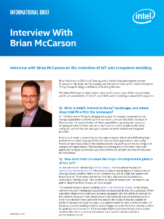 Brief: Interview with Brian McCarson