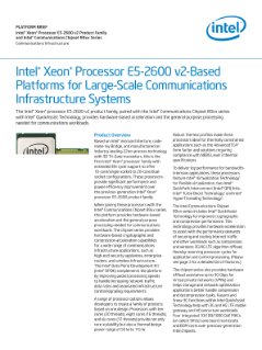 Improving Performance of Communication Infrastructure Systems