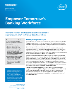 Empower Tomorrow's Banking Workforce
