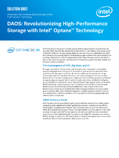 DAOS: Revolutionizing High-Performance Storage