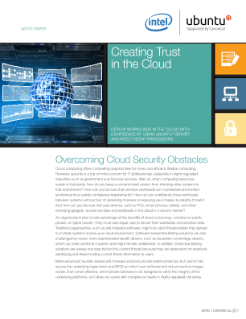 Server-Side Security Fosters Cloud Confidence
