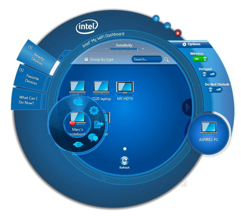 Intel® My WiFi Technology
