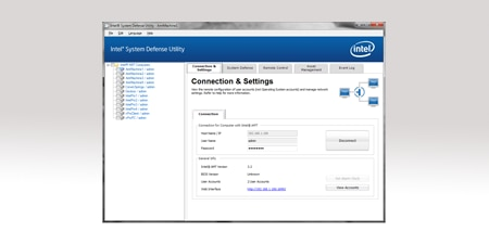 Intel® System Defense Utility